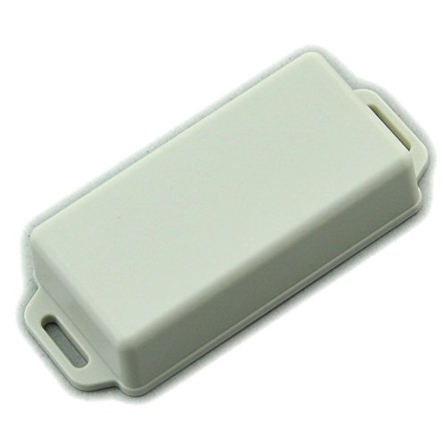 Electronics-Salon Small Wall-mounting Plastic Enclosure Box Case, White, 81x41x20mm,.