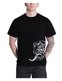 Gas Monkey Garage T Shirt Sidekick Kustom Builds Logo Official Mens New Black