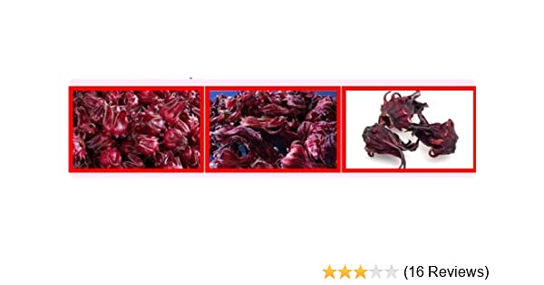 Dried Hibiscus Flower 22 Pound Bag Imported From Thailand By