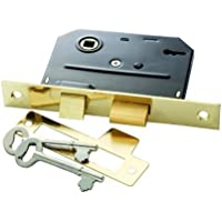 Belwith Products 1155 Bit Key Mortise Lock, Brass by BELWITH PRODUCTS LLC