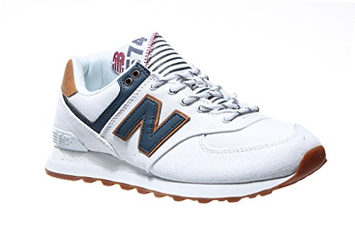 New Balance Baskets Wl574v2 Blanc Yatch Pack Femme APdxAr4wq