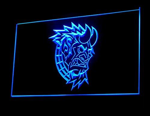 Devil Head Tattoo Design Shop Led Light Sign