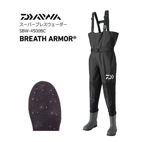 ダイワ ウェーダー SBW-4500BC 936903 ブラック Mの商品画像