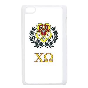 Chi Omega iPod Touch 4 Case White toy pxf005_5842236