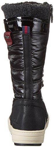 Noir Femme Neige black Bottes Tailor 1694703 De Tom xFYRAqw