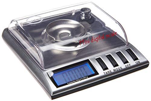 PoLLux GEM20 High Precision Portable Milligram Digital Pocket Scale 20 x 0.001g (Smart Weigh Gem20 High Precision Digital Milligram Scale)