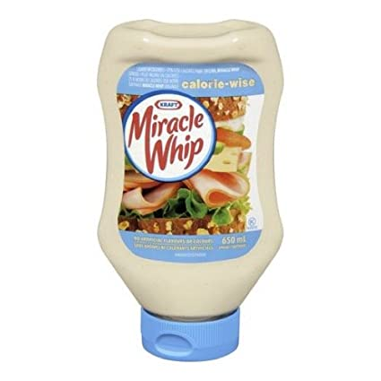 Miracle Whip EZ Squeeze Original Spread - 650ml Kraft Heinz Canada ULC