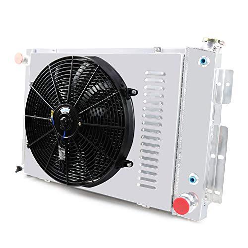 OzCoolingParts Designs Pro 3 Row Core Aluminum Radiator + 16