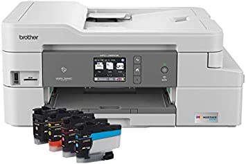 Amazon Com Brother Mfc J995dw Inkvestmenttank Color Inkjet All In One Printer With Mobile Device And Duplex Printing Up To 1 Year Of Ink In Box Amazon Dash Replenishment Ready Electronics