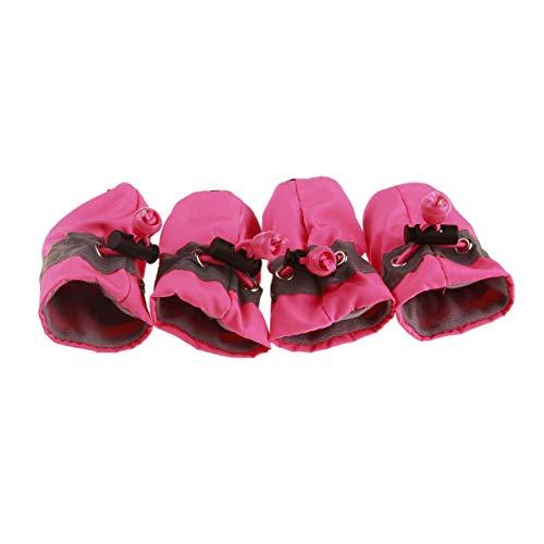 Forniture Cucciolo Scarpe Di Domestici Morbide Con Da Cani Impermeabili Animali Per Prodotti Piccola Taglia Antiscivolo Morbidi Suole qq15arw