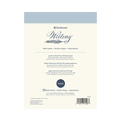Strathmore Writing Stationery (Strathmore Writing Pad Blank 6