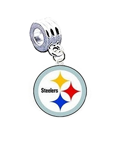 PITTSBURGH STEELERS OFFICIALLY LICENSED CHARM WITH CONNECTOR ()