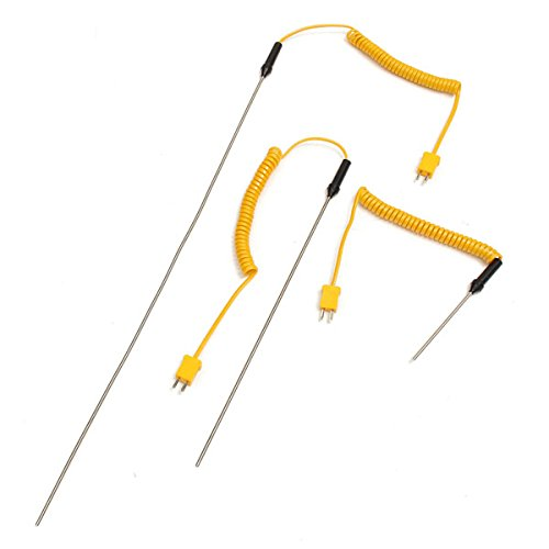 K-Type Thermocouple Stainless Steel Probe Temperature Controller Wire Sensors 100mm Thailand