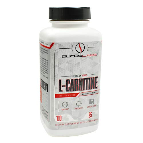 Purus Labs L-CARNITINE - Active Amino, Weight Loss, Recovery, 100 Count
