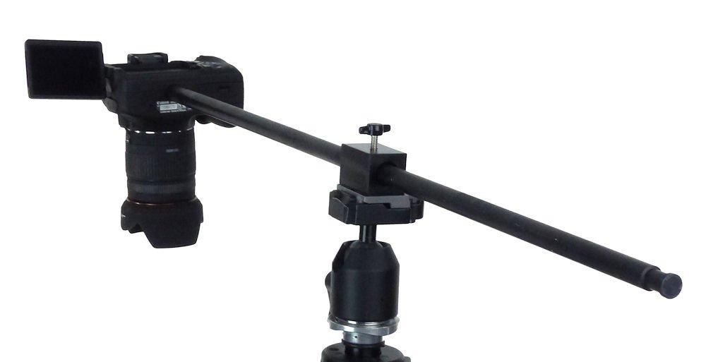 Amazon.com : ALZO Horizontal Camera Mount, Black, Tripod Accessory ...