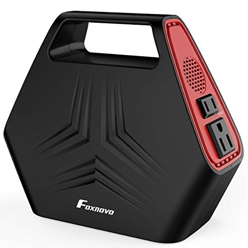 Portable Power Station Portable Mini Slim 20000mah Car Jump Starter Weber 6579 Q Portable Cart For Q1000 And Q2000 Series 6579 Portable Double Cassette Player: Foxnovo 150W Mini Portable Generator Power Station 146Wh