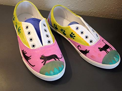 fcc93fa5a0b12 Amazon.com: Hand Painted Sneakers: Handmade