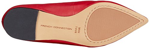 French Connection Geklin, Ballerine Donna Rosso (Rot (Tessi Red 651))