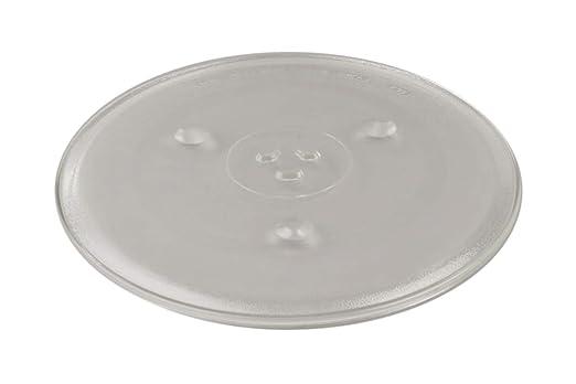 Plato Cristal Giratorio para Microondas Fi.=315mm: Amazon.es ...