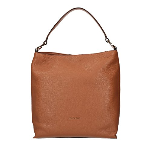 Coccinelle Arlettis shoulder bag calf leither light brown