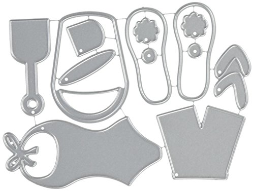Echo Park Paper Company At the Beach Die Cut (Flip Flops Die Cut)
