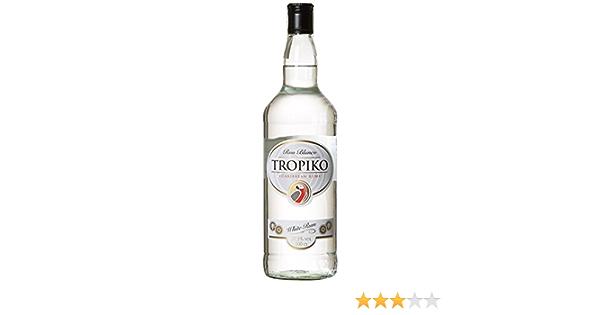 Ron tropiko blanco 1l 37.5º: Amazon.es: Alimentación y bebidas