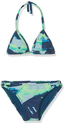 adidas Girl Bikini Allover Print Swimwear Training Pool Kids Junior Beach DQ3382 (140/9-10 Years)