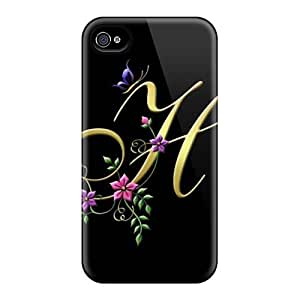 Cute High Quality iphone 5c My Creation Letter H Case