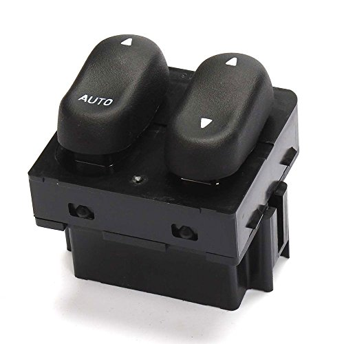 Power Master Window Switch Front Left for Ford 1999-2000 F-250 & 2001-2002 Lobo & 1999 2000 2001 2002 F-150 Cab Pickup 1999 Ford F-250 Pickup