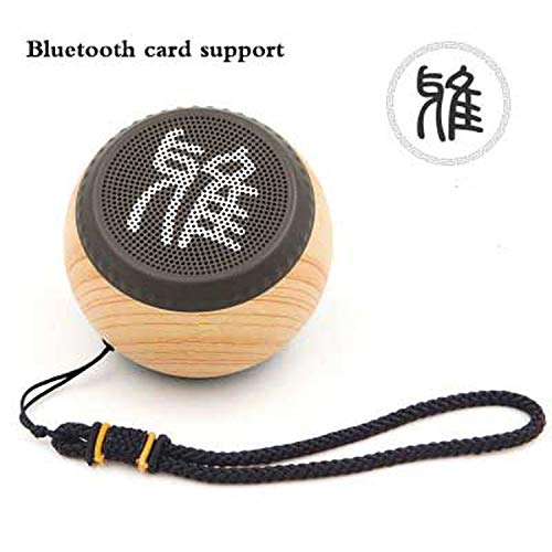 Retro Outdoor HiFi Stereo Bass Subwoofer Chinese Small Chess Style Wireless Bluetooth Speaker Mini Portable Audio Support Card,3,Speaker