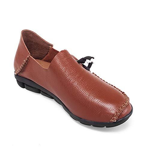 Femme Marron SDC05928 Sandales Compensées AdeeSu qvYwZtx