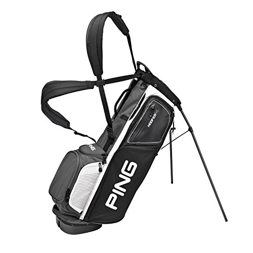 PING Golf Men's Hoofer 14 Carry Bag, Black