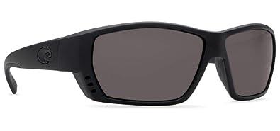 571a62d3cdf Costa Del Mar Tuna Alley Sunglasses Blackout Gray 580Glass