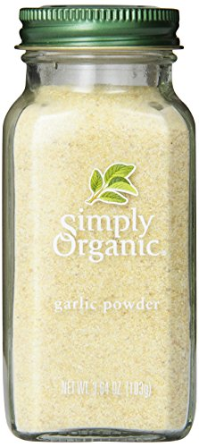 Simply Organic Garlic Powder, 3.64-Ounce Container