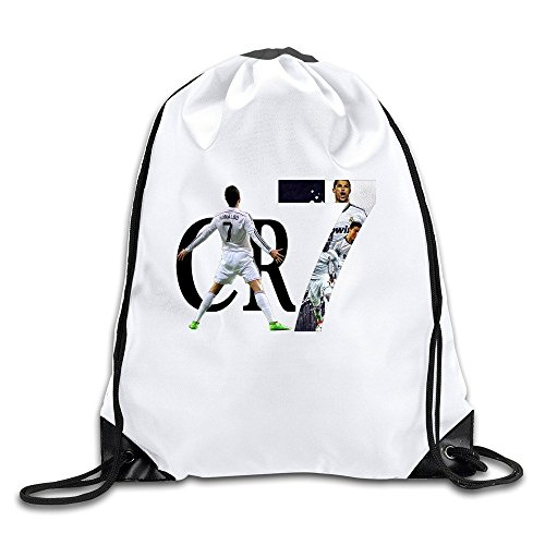 Price comparison product image BOoottty 2015 CR7 Cristiano Ronaldo Real Madrid Drawstring Backpack Bag