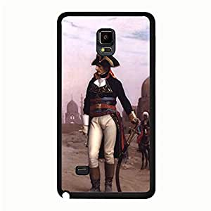 Artistic Element Napoleon Samsung Galaxy Note 4 Common Phone Case Vintage Print Design Historic Napoleon Logo Mouded Case