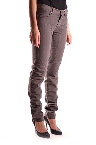 Algodon Jeans Marrón Mujer Ezbc069006 Jeckerson Sqg7an
