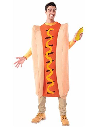 Forum Novelties Men's Hot Dog Costume, Multi,