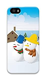 Case For Ipod Touch 4 Cover Christmas Snowman 3D Custom Case For Ipod Touch 4 Cover