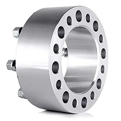 ROADFAR 8 Lug 2X 3(75MM) Wheel Spacer Adapters 8x6.5 to 8x6.5 (125MM) fit for Ford Econoline 250 Ford Econoline 350 with 9/16