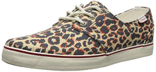 C1RCA Crip Skate Shoe, Leopard/Bone White, 10.5 M US