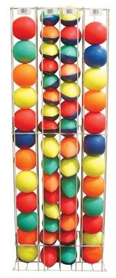Poof-Slinky 8-114 Side Kick Mini Ball 54 Piece Rack by Poof Slinky