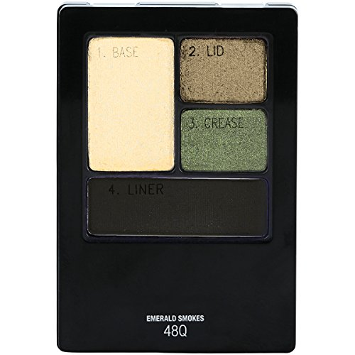 Maybelline New York Expert Wear Eyeshadow Quads, Emerald Smo
