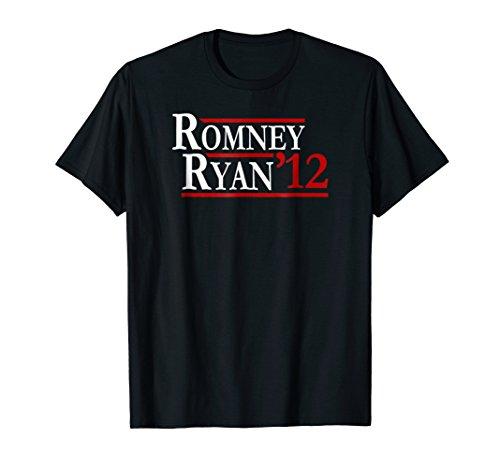 (Mitt Romney Ryan 2012 Election Throwback T)