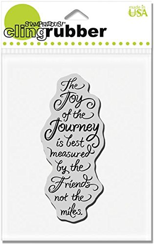 Joy Of Of Of Journey Stampendous Cling Rubber Stamp CRN237 8325f1