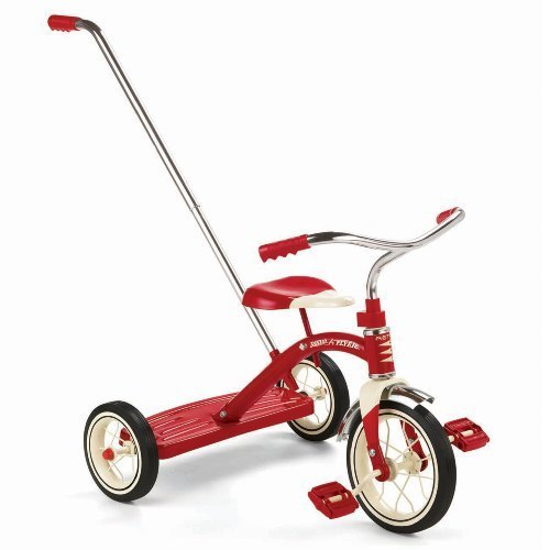 Radio by Flyer Classic Tricycle with Classic Push Handle, Red Tricycle by Radio Flyer [Toy] [並行輸入品] B00NIET0BA, 激安エスニックファッションGADO:133d9986 --- number-directory.top