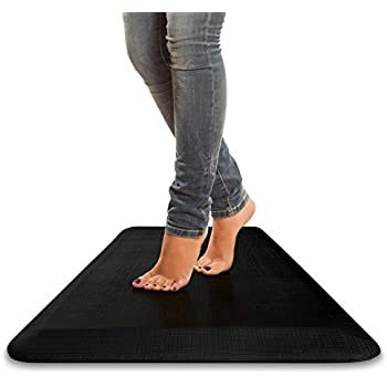 "Standing Logic 42"" x 21"" Anti Fatigue Non Slip Kitchen Mat - Standing Desk - 3/4"" Comfort"