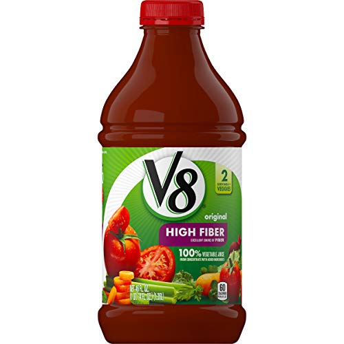 V8® High Fiber 100% Vegetable Juice, 46 oz