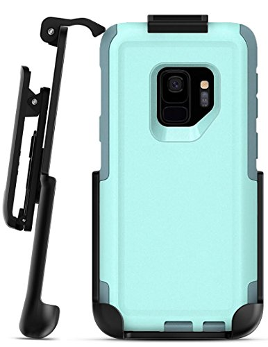 Belt Clip Holster for Otterbox Commuter Case - Galaxy S9 (Encased) Secure Fit Rotating Holster (case not included)