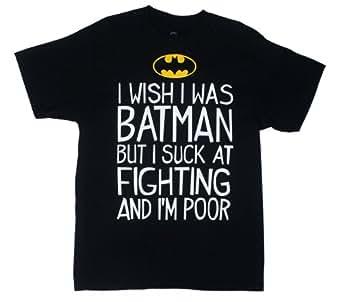 Batman I Suck at Fighting T-Shirt X-Large